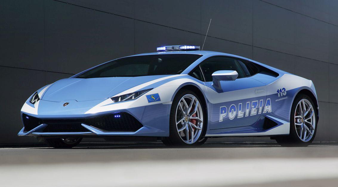 Italian police's Lamborghini Huracan