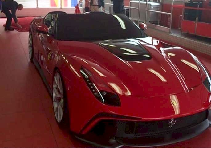 Ferrari F12 TRS front