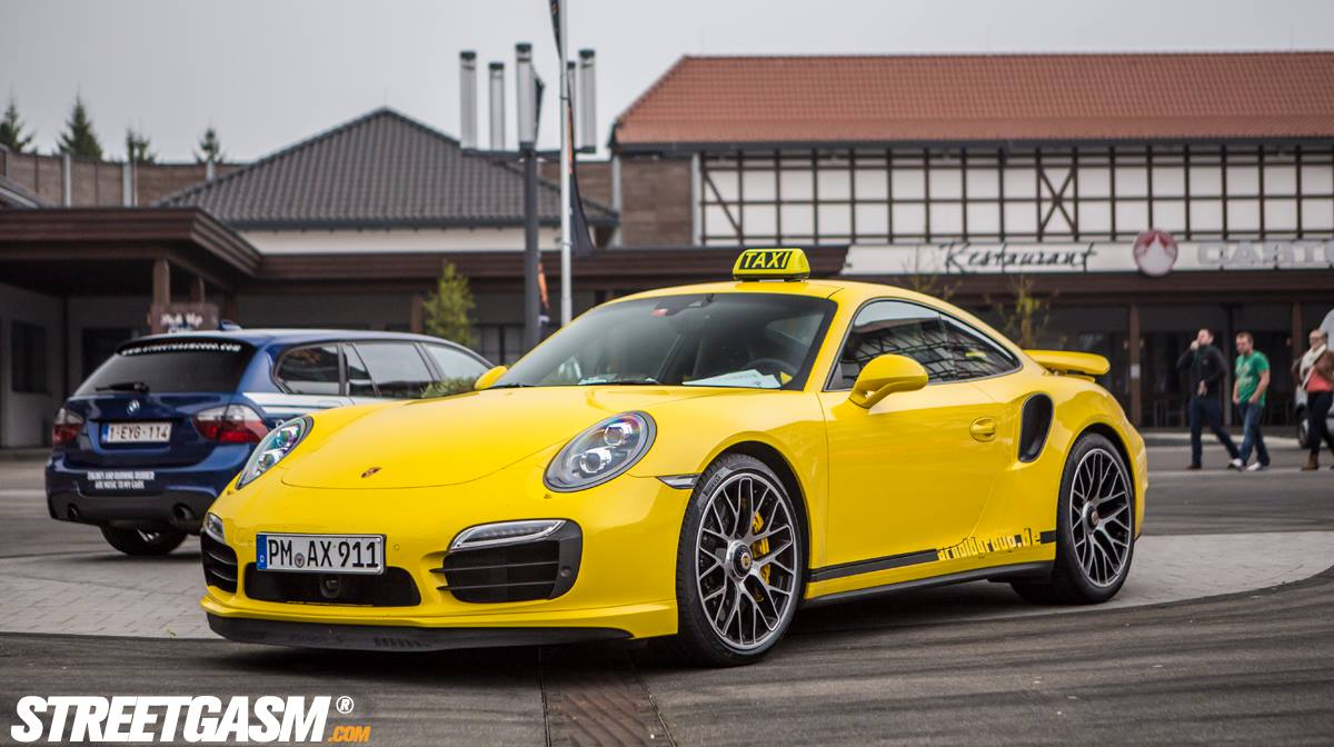 Porsche 911 Turbo S Taxi at StreetGasm 2000 Challenge
