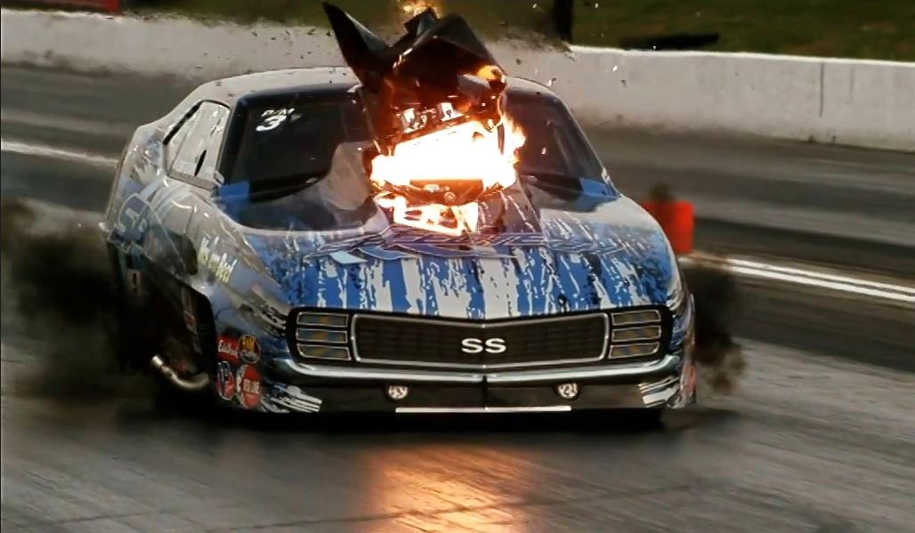 NHRA racing