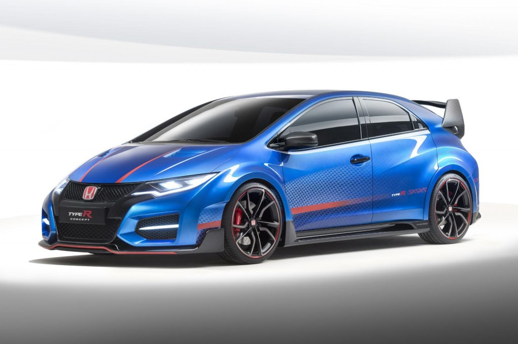 2015 Honda Civic Type R Concept front image