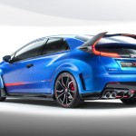 2015 Honda Civic Type R Concept rear image