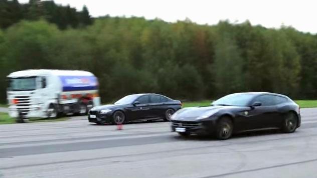 BMW M5 vs Ferrari FF