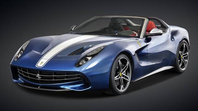 Ferrari F60 America front image