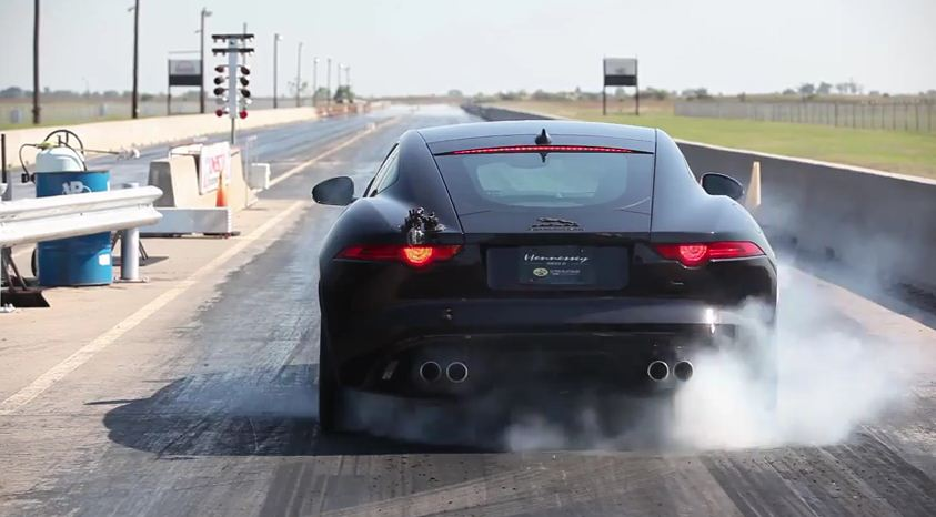 Hennessey HPE600 Jaguar F-Type R Coupe