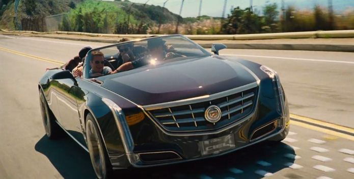 Cadillac Ciel Concept in Entourage - official trailer