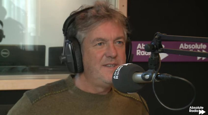 James May on Absolute Radio