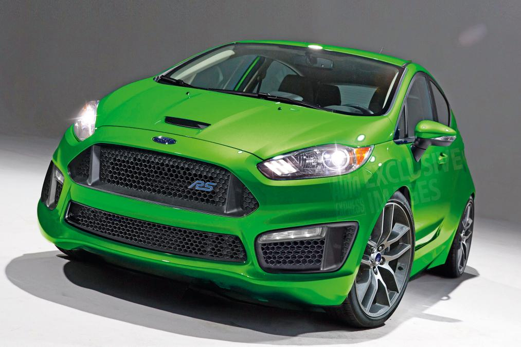 Ford Fiesta RS rendering