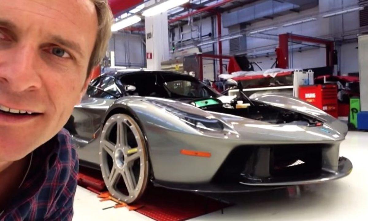 Ferrari Laferrari Factory Tour Video The Supercar Blog