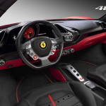 Ferrari 488 GTB interior image