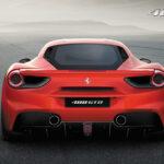 Ferrari 488 GTB rear image