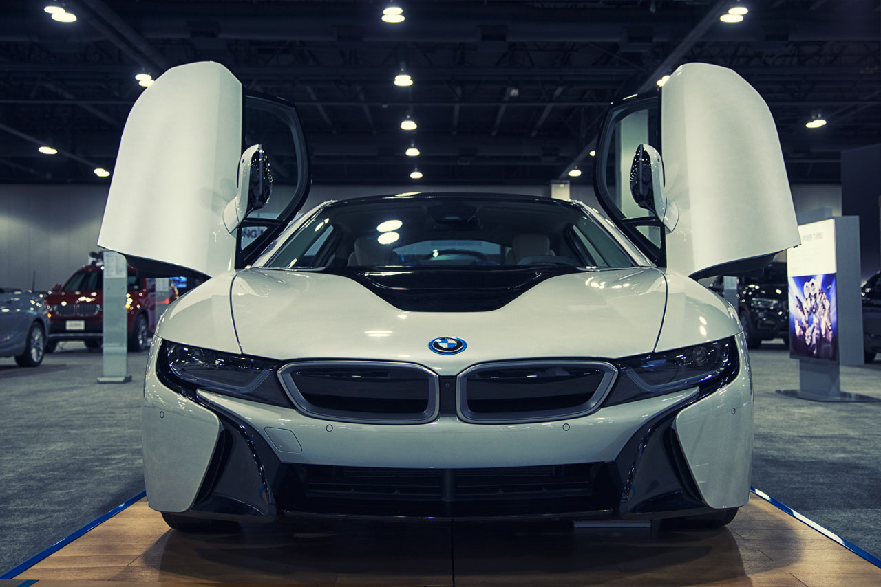 BMW i8 at Denver Auto Show