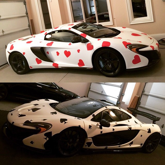 Deadmau5 Gumball3000 'Ace of Spades' P1, 'Queen of Hearts' 650S