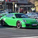 Porsche 911 GT3 Green