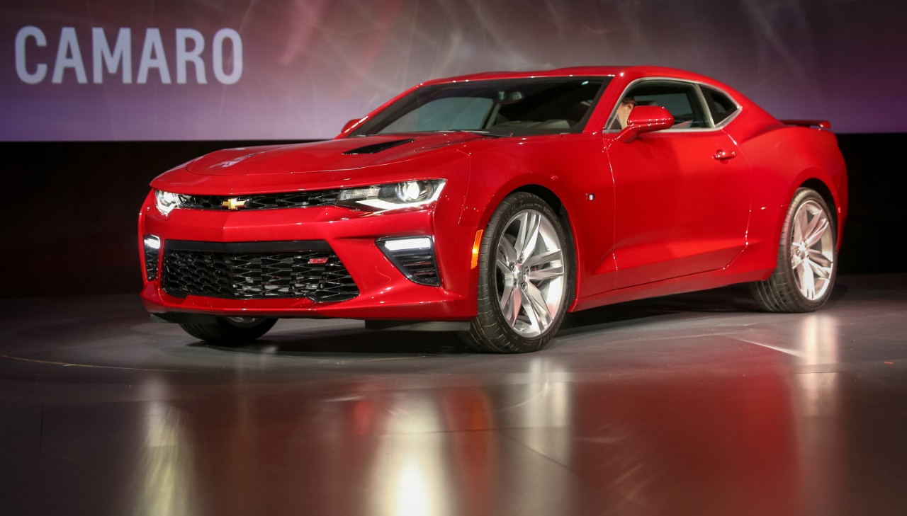 2016 Chevrolet Camaro launch 2
