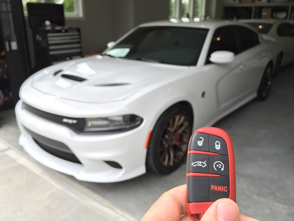 Dodge Charger SRT Hellcat Key Fob