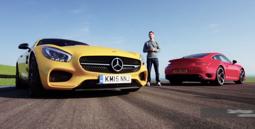 Mercedes-AMG GT S vs Porsche 911 Turbo