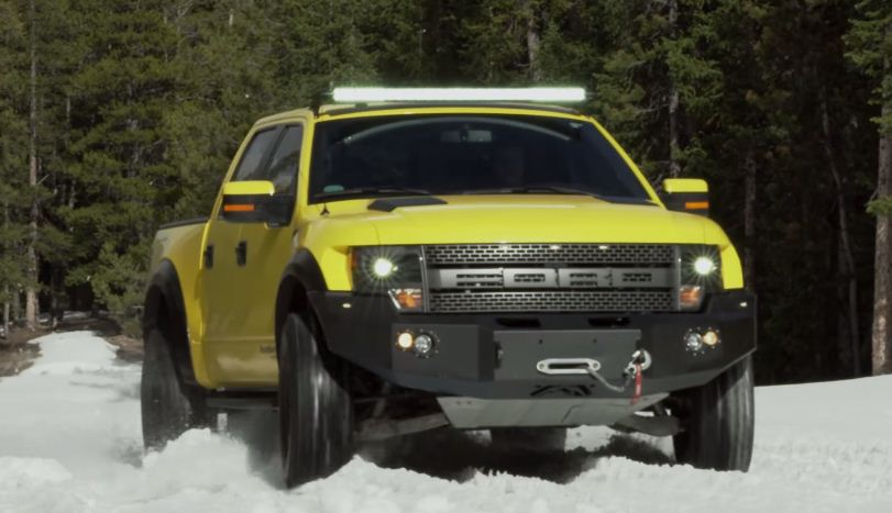 Top Gear VelociRaptor 600 by Hennessey