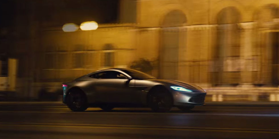 Aston Martin DB10 in James Bond's SPECTRE