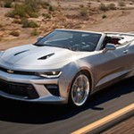 Chevrolet Camaro Convertible leaked