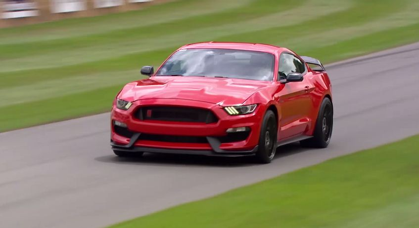Ford Mustang Shelby GT350R at Goodwood FOS