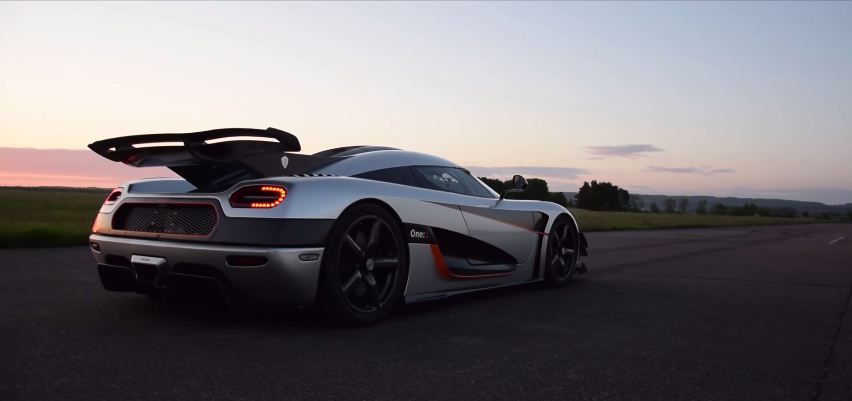 Koenigsegg One-1 world record 0-300-0