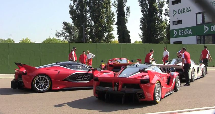 LaFerrari FXXK at Imola