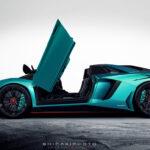 Lamborghini Aventador SV Roadster side