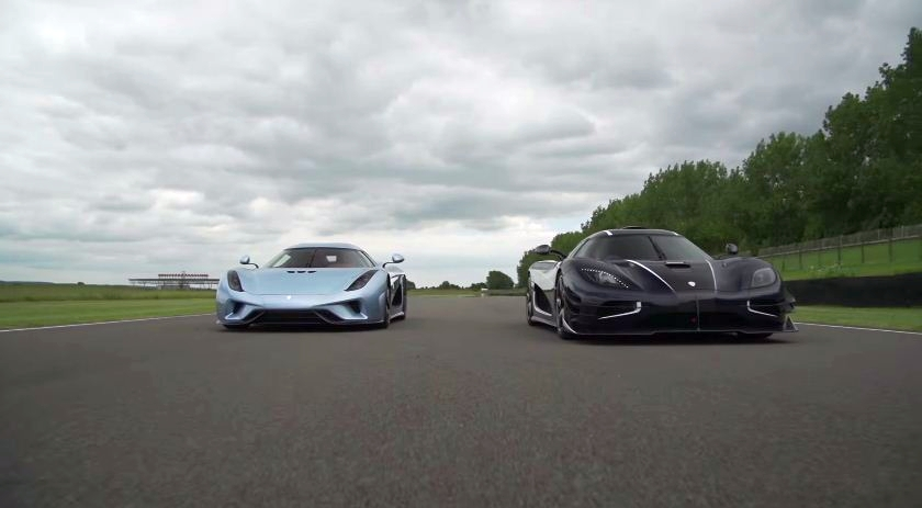 Koenigsegg Regera and One:1 at Goodwood