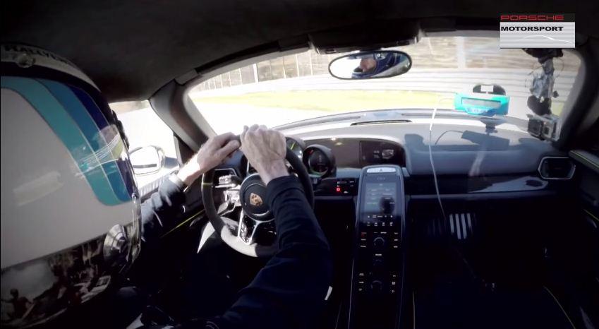 Walter Rohrl crashes Porsche 918 Spyder