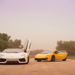 Lamborghini customer track day at Autobahn Raceway 1
