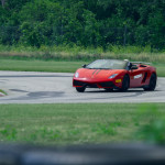 Lamborghini customer track day at Autobahn Raceway