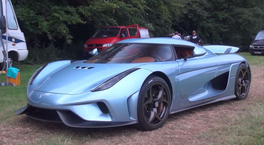 Koenigsegg Regera at Goodwood