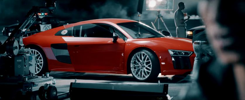 2015 Audi R8 Commerical behind the scenes