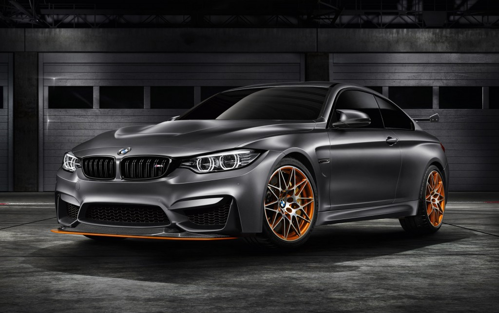 BMW M4 GTS Concept 2015 Pebble Beach