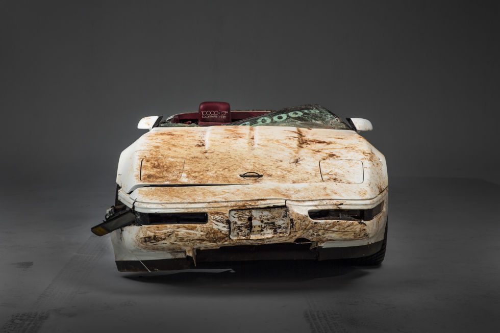 1 millionth Corvette destroyed by National Corvette Museum sinkhole