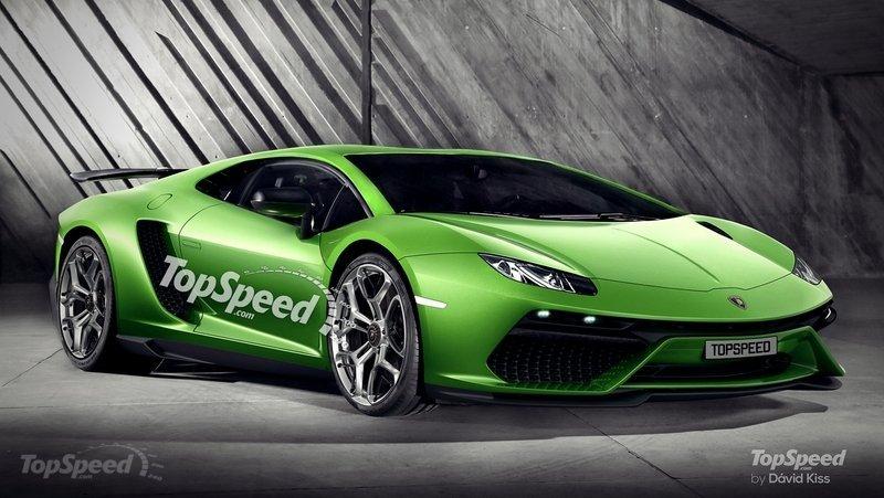 2016 Lamborghini Centenario LP770-4 rendering