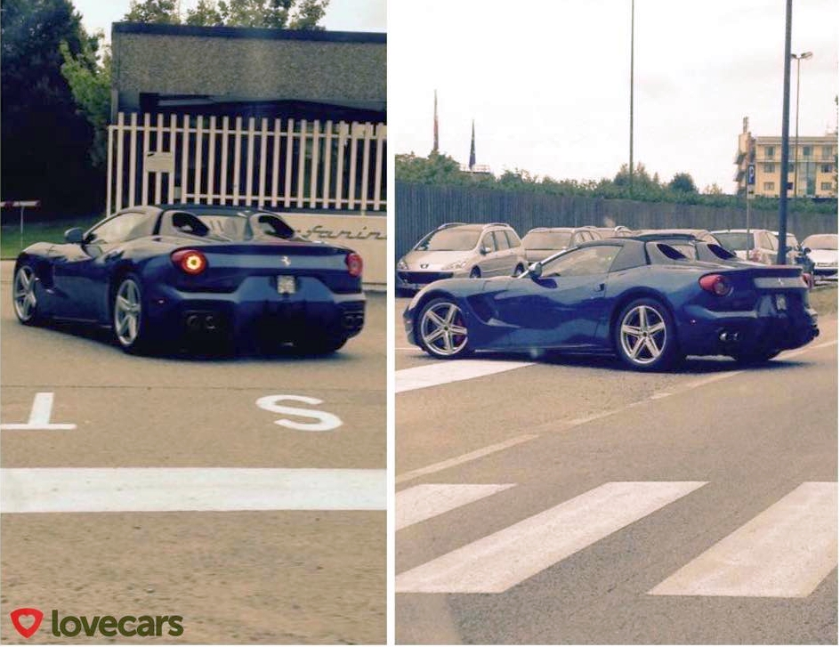 Ferrari F60 America spotted in Italy