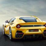Ferrari F12 TDF rear angle