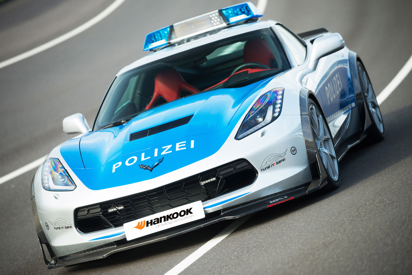 Corvette Stingray C7 Polizei by Tikt Performance- 8