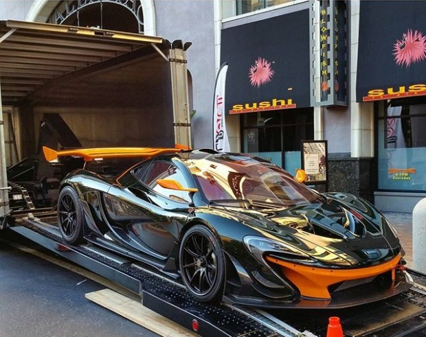 First US McLaren P1 GTR delivered