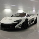 McLaren P1 GTR in white-1