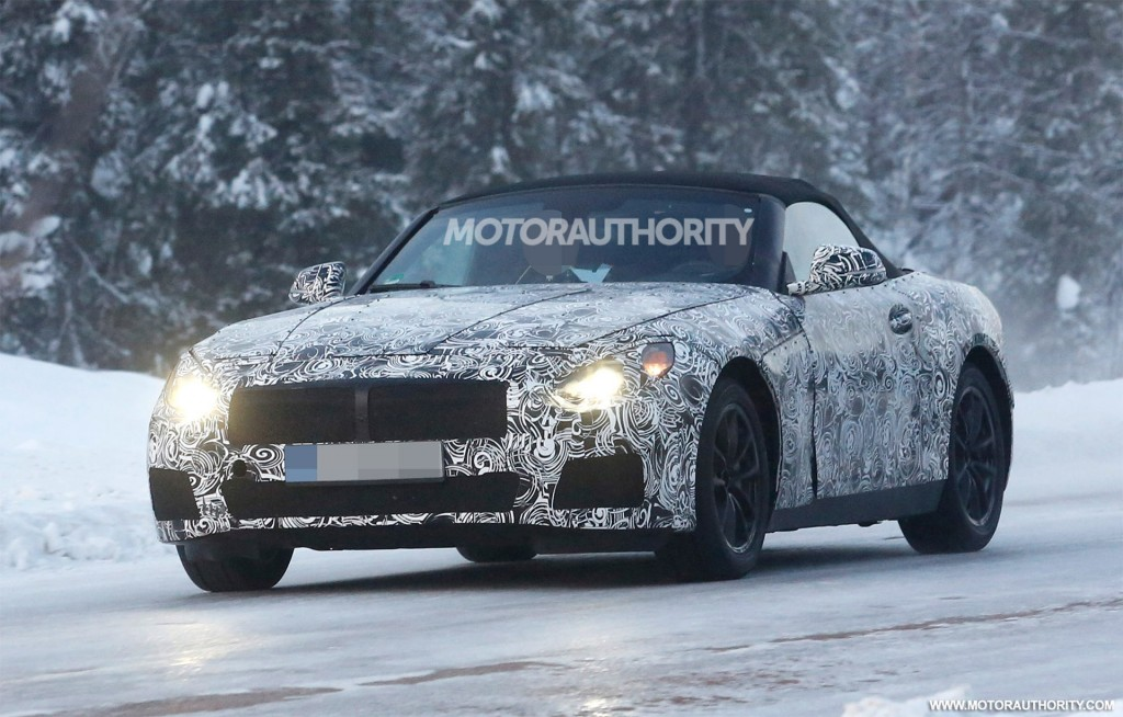 2018 Bmw Z5 Convertible Prototype Spy Shots