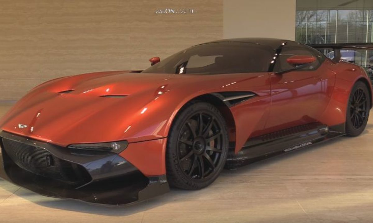Aston Martin Vulcan For Sale In The Us The Supercar Blog