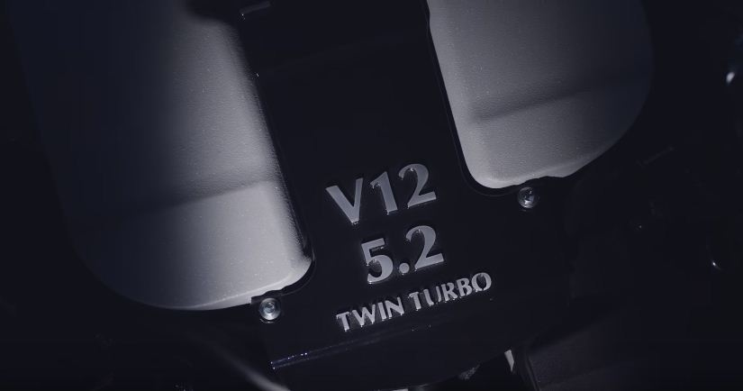 Aston Martin's new Twin-Turbo V12 engine