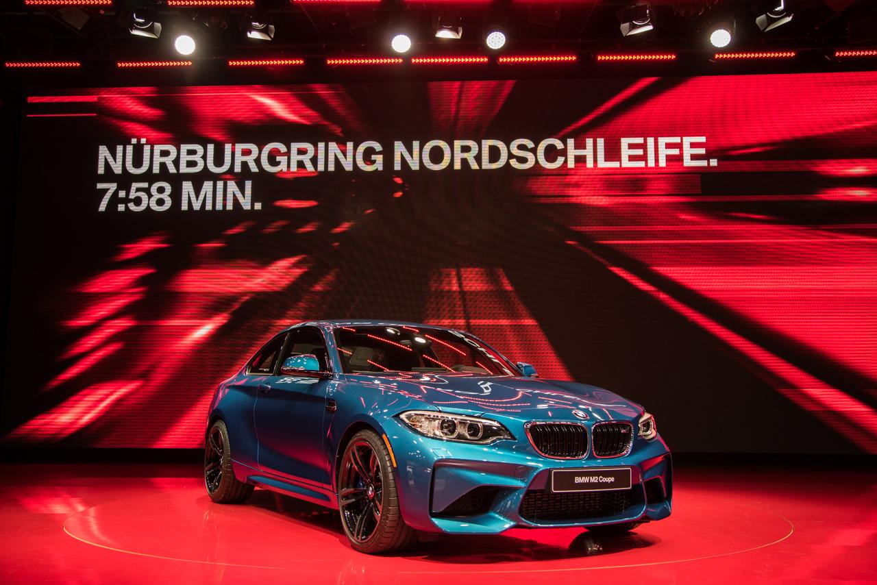 BMW M2- 2016 Detroit Auto Show-1