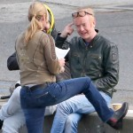Chris Evans filming new Top Gear series