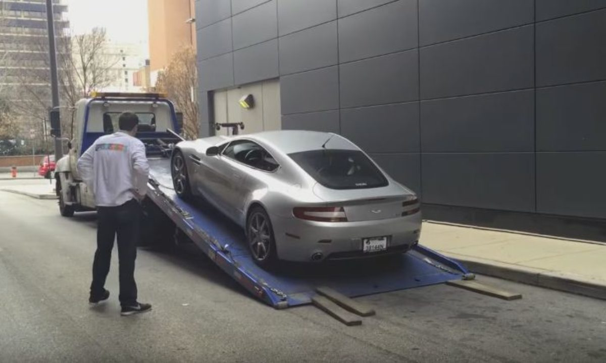Doug Demuro S Aston Martin V8 Vantage Breaks Down Again Video The Supercar Blog