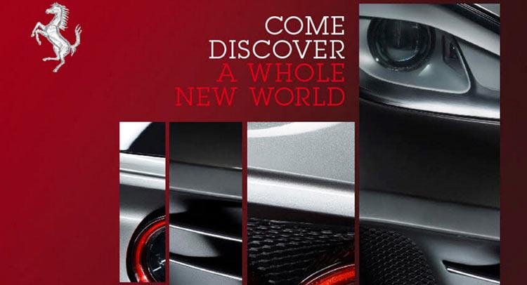 Ferrari FF facelift teaser image