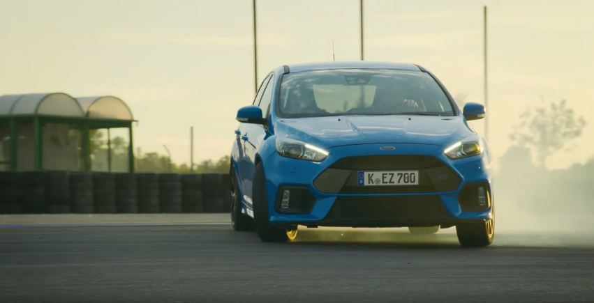 The Stig drives the new Ford Focus RS